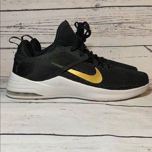 Nike Air Max Bella TR 2 Black and Gold sz 9.5